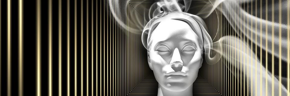 Head with vapour (Credit: pixabay/geralt)