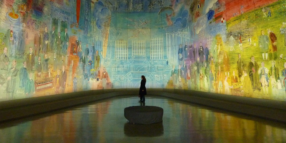 A 360 degree mural (Credit: pixabay/Hermann)